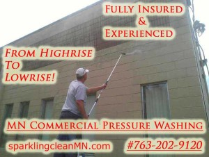 MN Commercial Pressure Washing