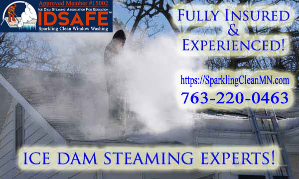 MN Ice Dam Steaming Customer Reviews